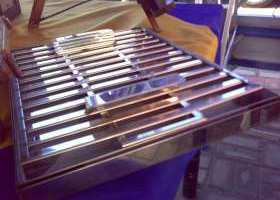 Stainless Steel Beskuit Panne