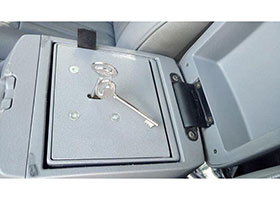 Vehicle Console Safe